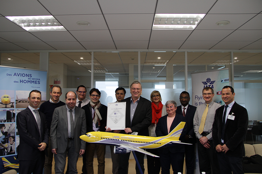 ASL Airlines France and IATA Paris team meeting
