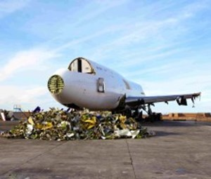 Helping aircraft decommissioning