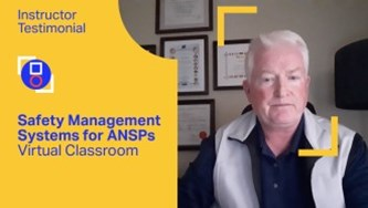 Safety Management Systesm for ANSPs testimonial